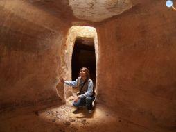 L'archeologa Martinez