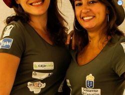 Irene Mprfini (a sinistra)