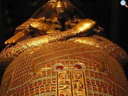 Il sarcofago (vero) di Tut