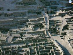Rovine del villaggio di Deir el Medina